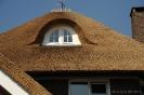 Dakkapel in rieten dak Stokkum